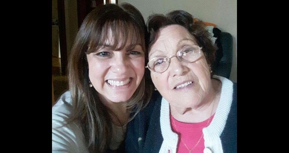 """Paula Souza De Gino faz uma homenagem à mãe Rita N. Souza: """"Minha rainha, meu exemplo"""""""