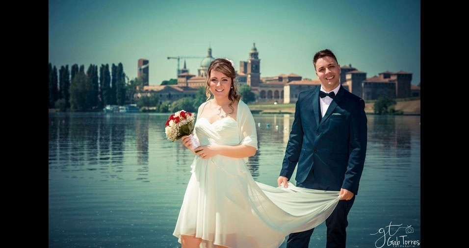O casamento de Ellen Schiavoni Moreira e Willian Douglas Souza Castro aconteceu em Mantova, na Itália, no dia 22/04/2017