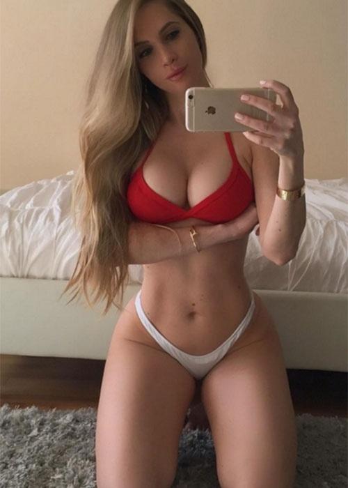 27.dez.2015 - A modelo americana Amanda Lee ocupa a 9ª colocação na lista das musas fitness que mais faturam no Instagram