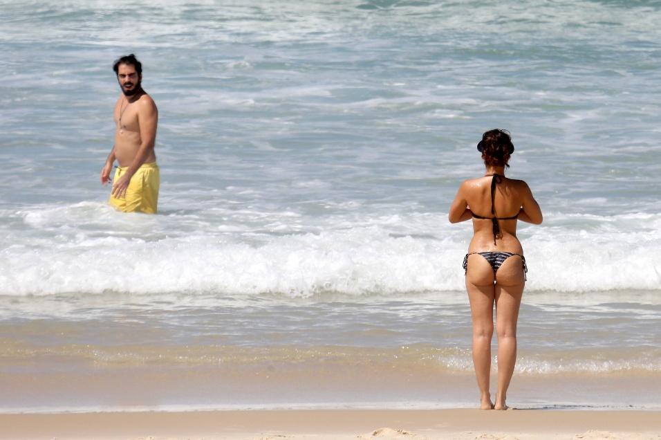 17.mar.2017 - Bianca Bin e o marido Pedro Brandão estão juntos desde 2011