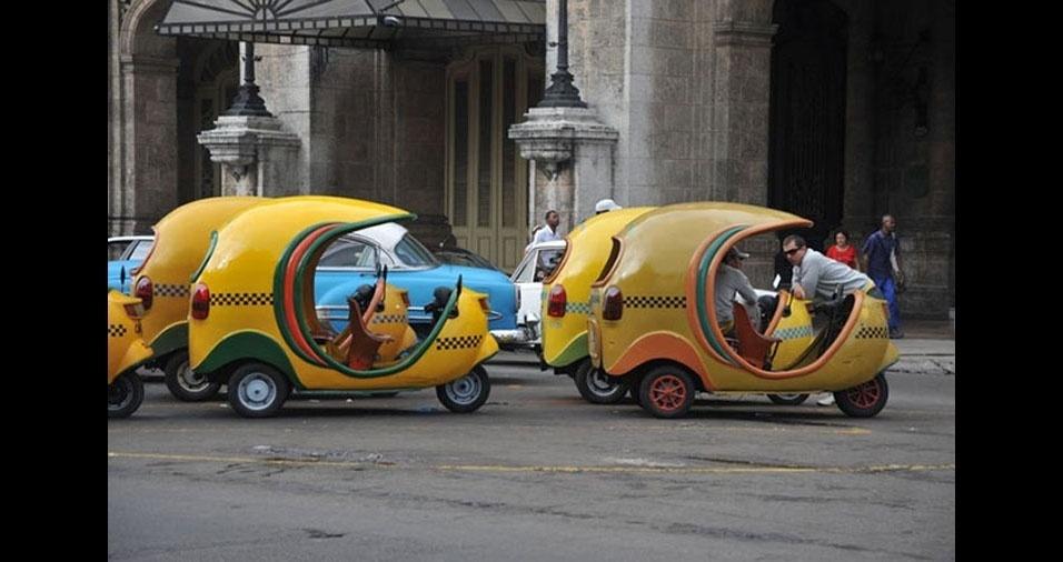 6. Táxi-coco, de Cuba