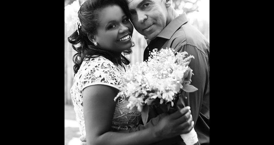 Rose e Wellington, de Piumhi (MG), se casaram em 27 de maio de 2016