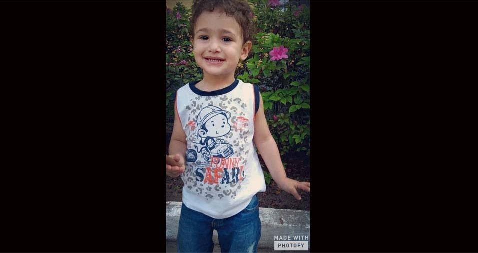 Monique Naiane, de São Paulo (SP), enviou foto do filho Miguel