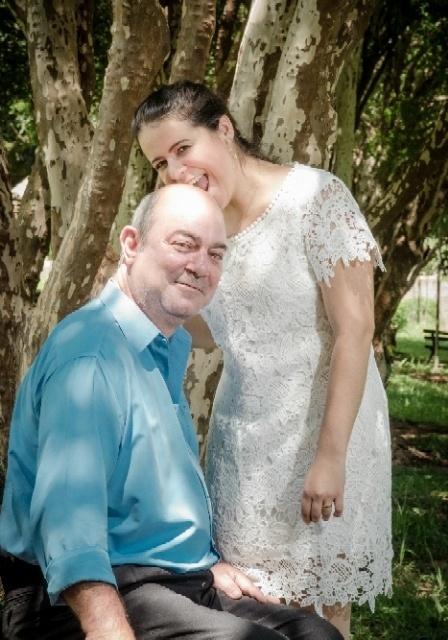 Elaine Rodrigues de Souza Bueno e José Francisco Bueno se casaram no dia 07 de janeiro de 2017, em Asis (SP)