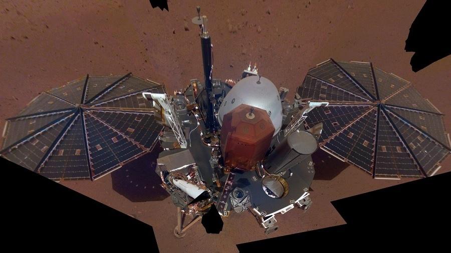 Sonda InSight - Reprodução/NASA