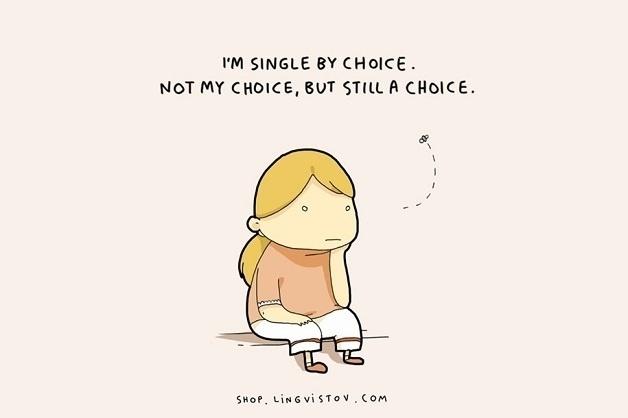 """25.nov.2015 - """"Eu estou solteira por escolha. Não minha escolha, mas ainda assim uma escolha"""""""