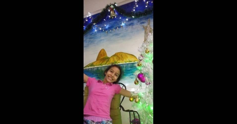 """Nei Rodrigues dos Santos, do Rio de Janeiro (RJ): """"Minha filhona Ana Clara"""""""