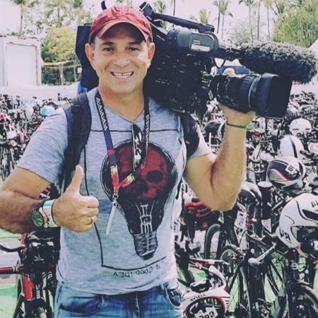 Ari Júnior, cinegrafista da TV Globo - Reprodução/Twitter