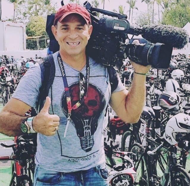 Ari Júnior, cinegrafista da TV Globo