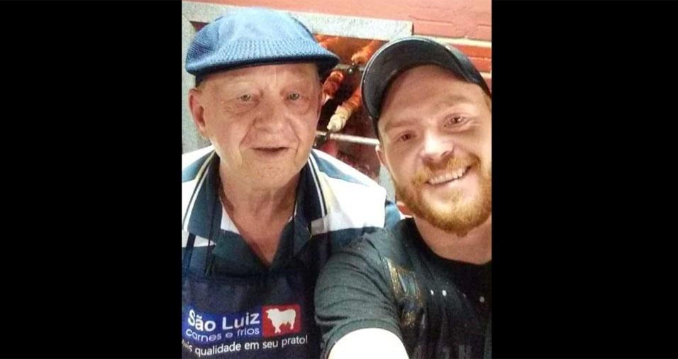 Murilo Ittner com o papai Arno Ittner, de Campo Largo (PR)
