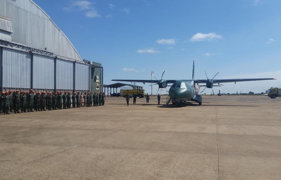 Ago.2017 - Operação do SC-105 Amazonas SAR ficará a cargo do Esquadrão Pelicano, sediado na Ala 5 da base aérea de Campo Grande