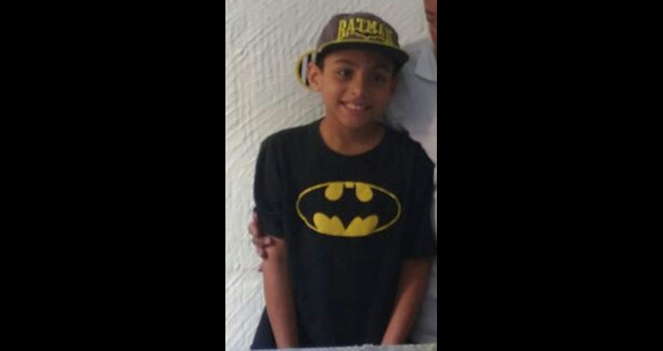 Thamara, de São Paulo (SP), enviou foto do filho Thiago