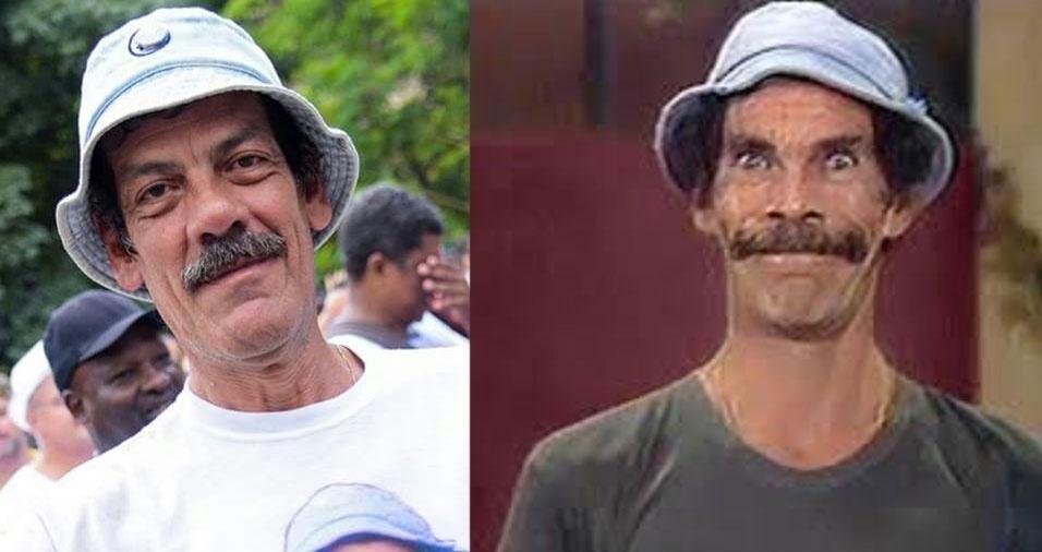 """Wilson Moreira, de Campinas (SP), é a cara do """"Seu Madruga"""""""