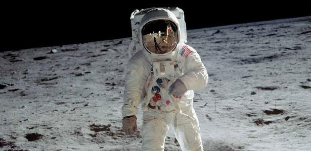 Há quem ainda duvide que o homem pisou na Lua