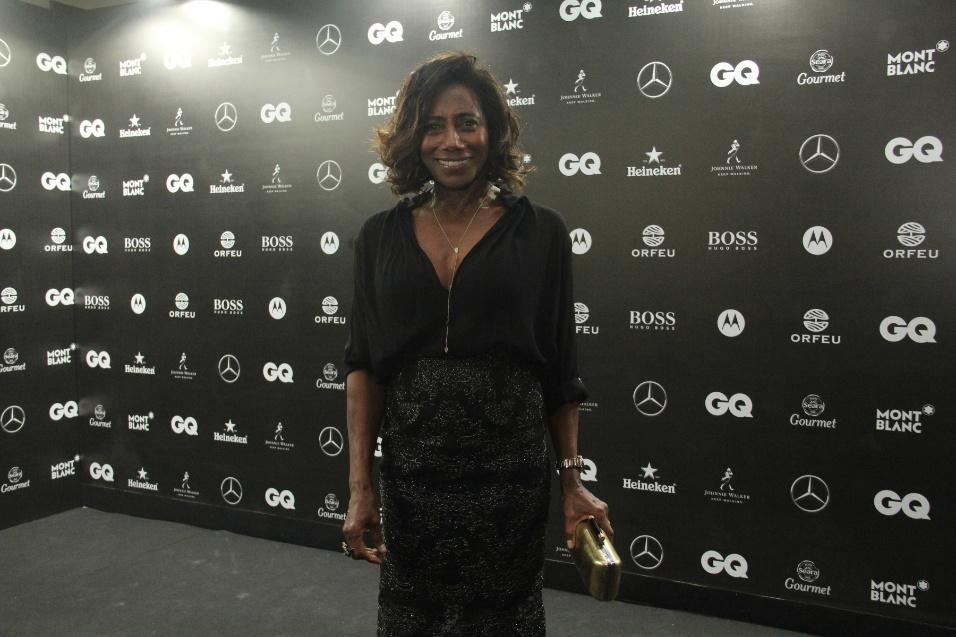 1.dez.2016 - Glória Maria participa do prêmio 'Men of The Year da revista GQ Magazine, no Copacabana Palace, no Rio