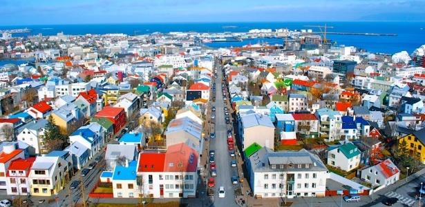 Reykjavik, capital islandesa, servirá como ponto de partida das viagens - Reprodução/Reddit
