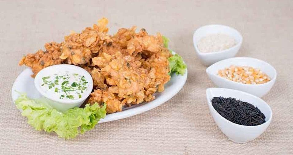 """1. O Baixo Gávea concorre com o prato """"Fish Flakes"""", que é uma porção de peixe frito empanado com corn flakes, acompanhado de molhos de limão e mostarda picante. Onde: Rua Brigadeiro Jordão, 285 - Ipiranga. Mais informações: (11) 4564-7760"""