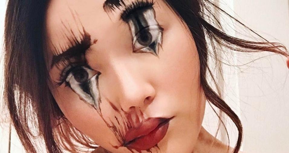 11. Mimi parece ter um gosto especial por maquiagens um tanto quanto assustadoras