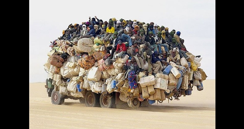 16. Transporte coletivo em países da África