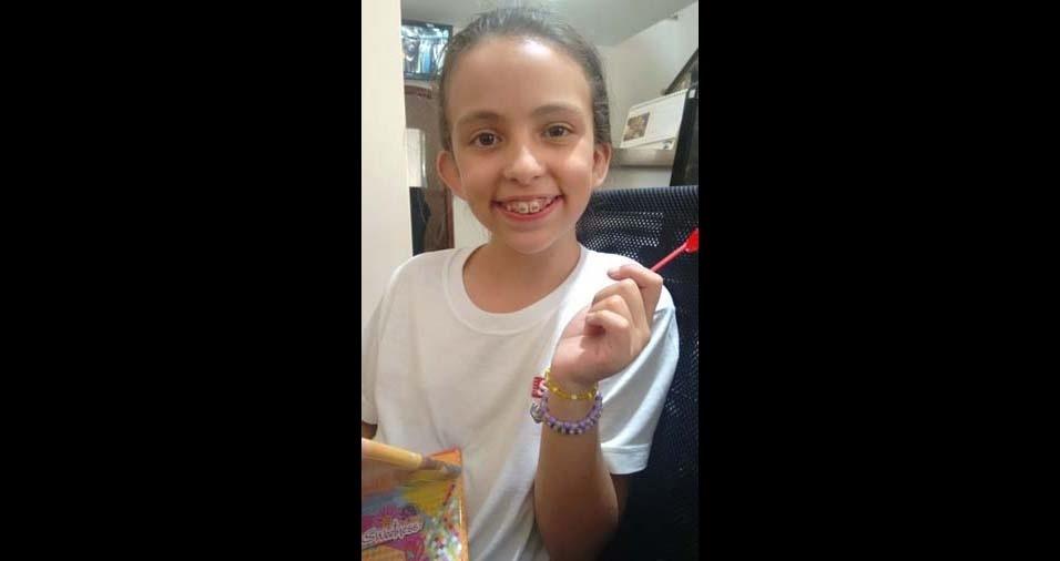 Rosemeire Mota da Silva e Fábio Luiz Nunes da Silva, de Tatuí (SP), enviaram foto da Nathalia Cristina Nunes da Silva, nove anos