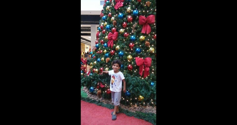 Ícaro Portal, de Belém (PA), enviou foto do filho
