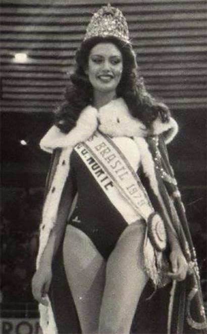 10. Martha Jussara da Costa - Em 1979, a Miss Rio Grande do Norte ficou em 4º lugar no Miss Universo