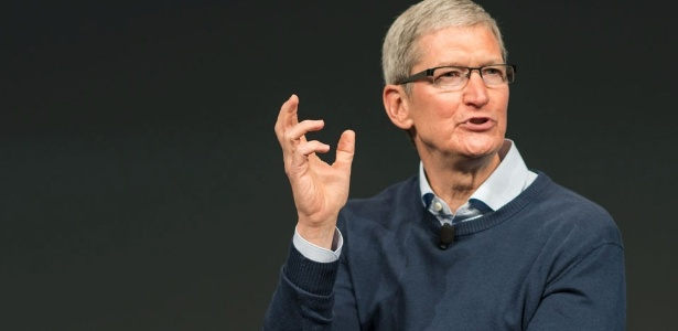 Tim Cook é presidente da Apple