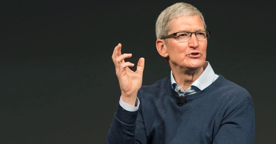 27. Tim Cook, presidente da Apple