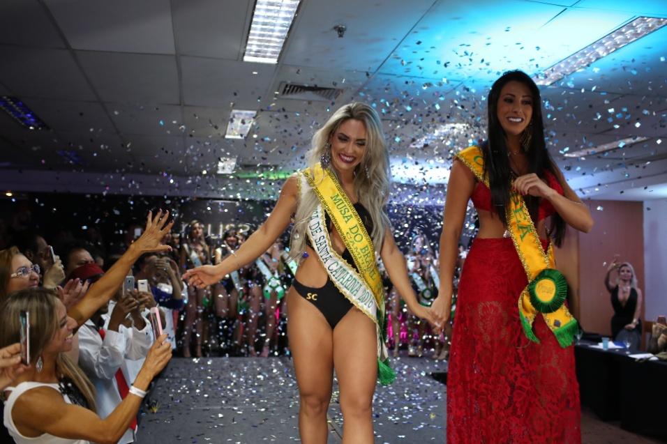 14.dez.2016 - Iara Ferreira vence o Musa do Brasil 2016