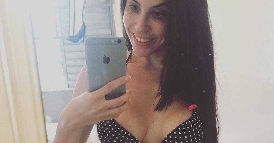 """5.fev.2016 - Jéssica Amaral foi a garota de capa da primeira edição de 2016 da revista """"Sexy"""". No Instagram, a beldade compartilha fotos de alguns ensaios e selfies sensuais"""