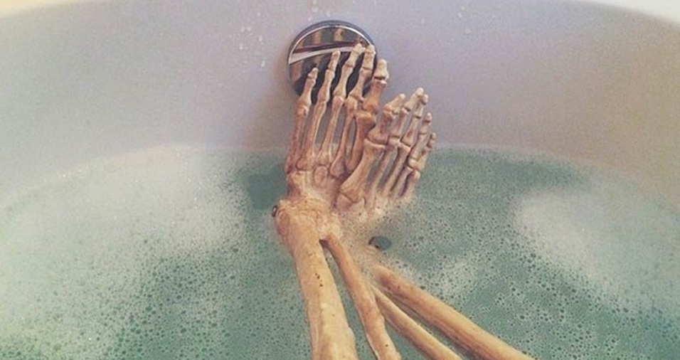 48. Aquele banho relaxante