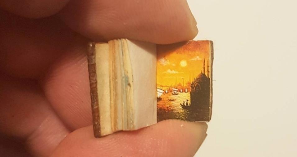 22. Um livro pequeno para um artista habilidoso é mais do que suficiente