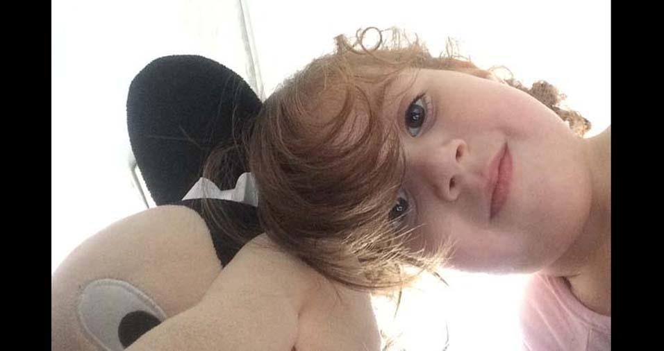 Clara, de quatro anos, enviada pelo pai Sergio, de Santana de Parnaíba (SP)