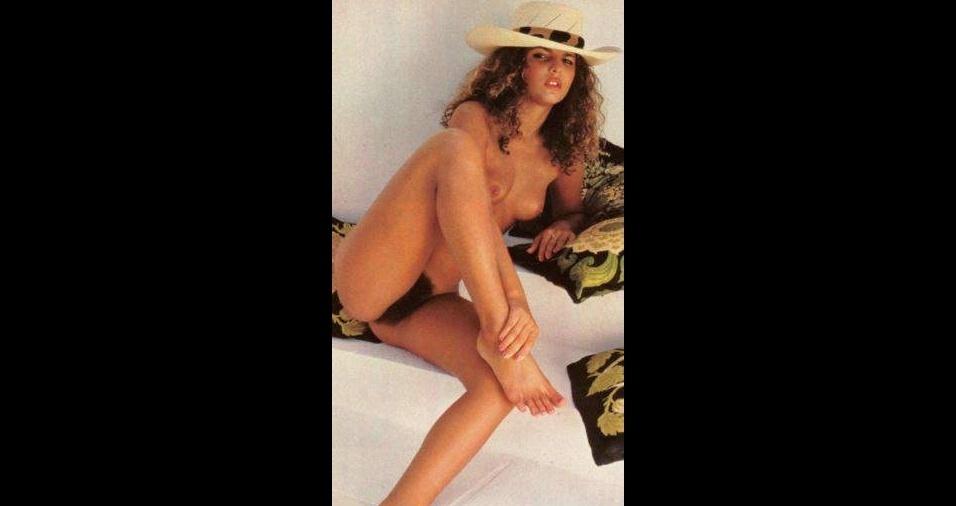"""17. Em 1984, Sonia Teixeira teve sua pelagem descoberta pelos leitores da revista """"Playboy"""""""