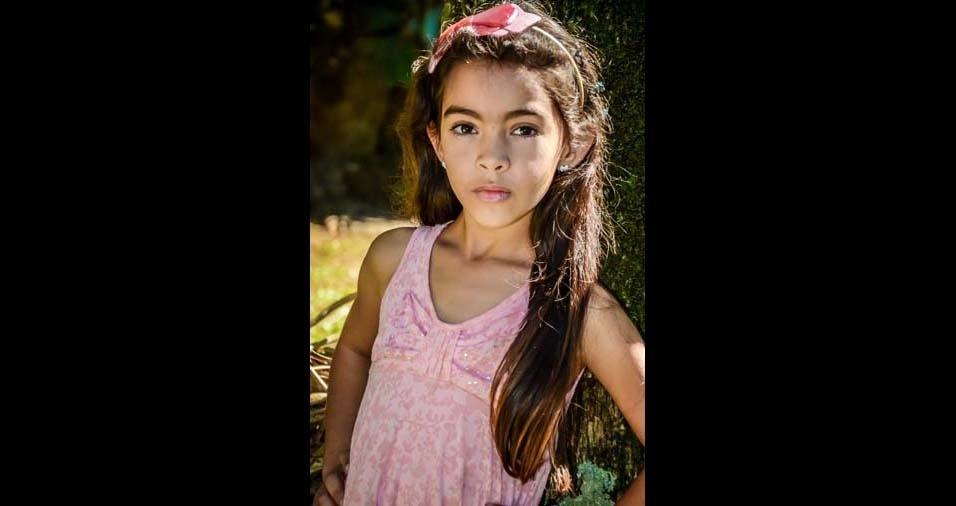 Joice Mara enviou a foto da filha Giovana, de Fazenda do Rio Grande (PR)