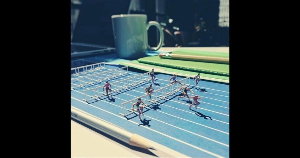 17. Corrida com obstáculos