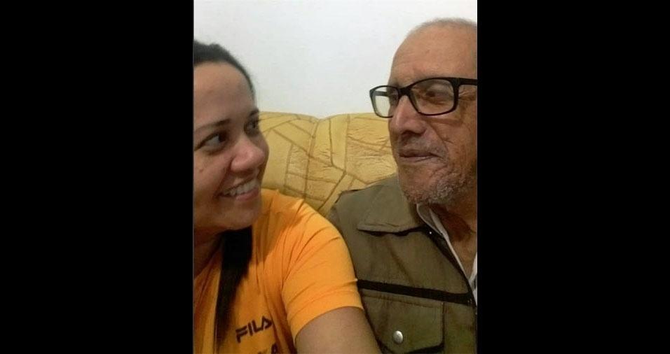 """Marcia Moraes Souza homenageia o pai Juvenal Moraes: """"Minha admiração, meu carinho, meu amor"""". Eles são de Jundiaí (SP)"""