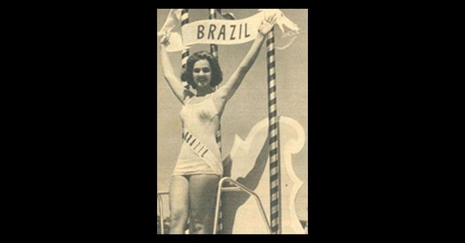 2. Terezinha Morango - a Miss Amazonas de 1957 foi 2ª colocada no Miss Universo