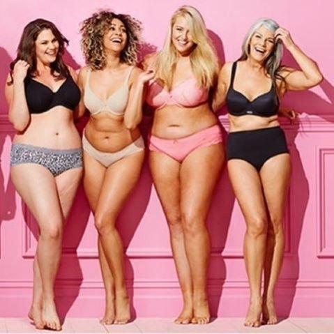 """9.dez.2015 - A Target usou modelos de diferentes tipos físicos e idades para a campanha de Natal, denominada """"Every Body"""" (todos os corpos, em português)"""