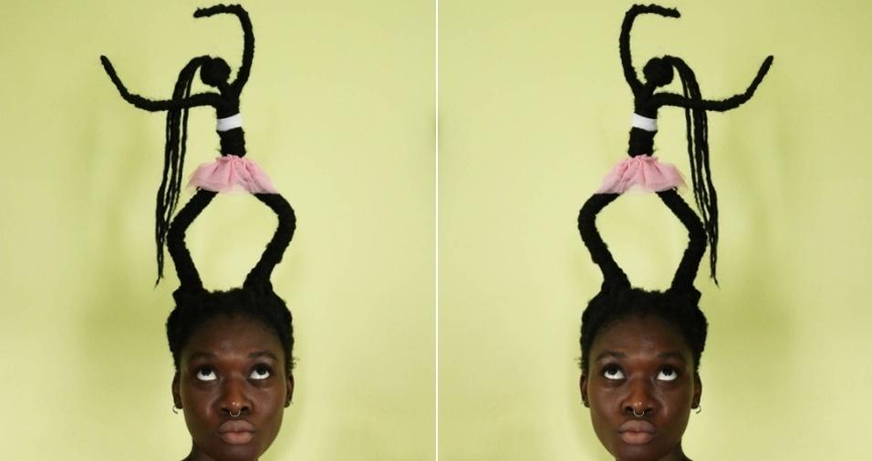 15. Teve cabelo em homenagem ao dia internacional da dança, em 29 de abril