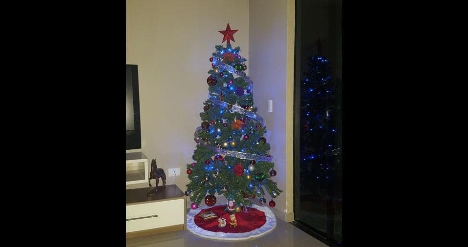 Daiana, de Campo Largo (PR) e sua árvore de Natal