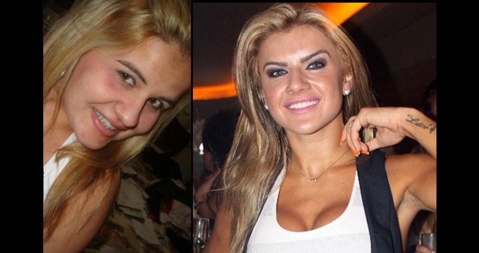 Patrícia Oliveira, de Cataguases (MG), se acha parecida com a atriz Mirela Santos