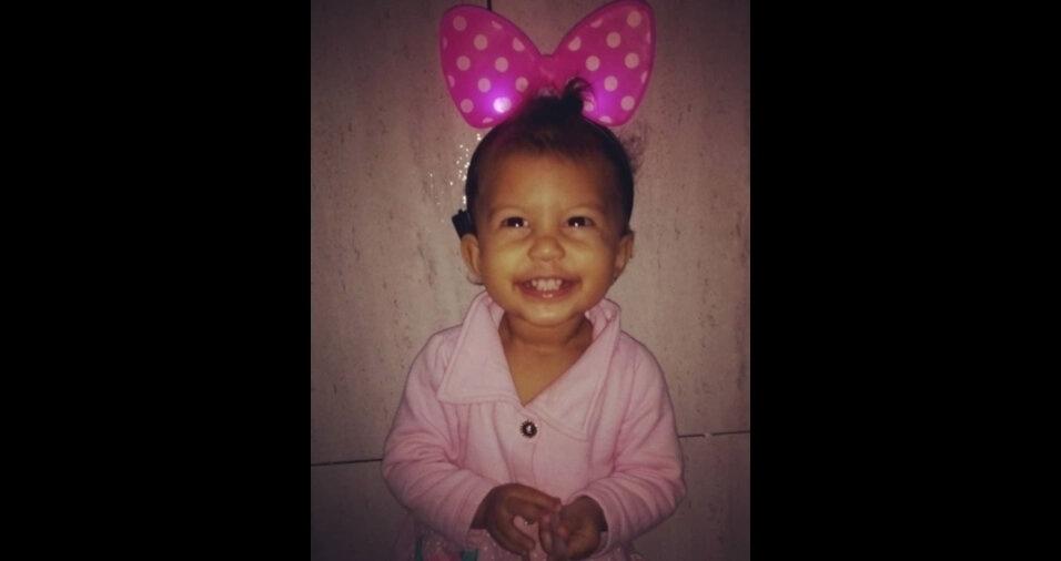 Sofia Nobre Reis, de um ano e sete meses, filha do Felipe e da Valéria, de Ipatinga (MG)