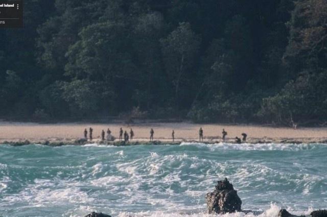 """21.mai.2016 - População da tribo é estimada entre 50 e 400 pessoas. Alguns pesquisadores dizem que eles podem ser descendentes do primeiro povo que surgiu na África. Os sentinelenses são considerados um dos mais """"selvagens e misteriosos"""" povos da Terra"""