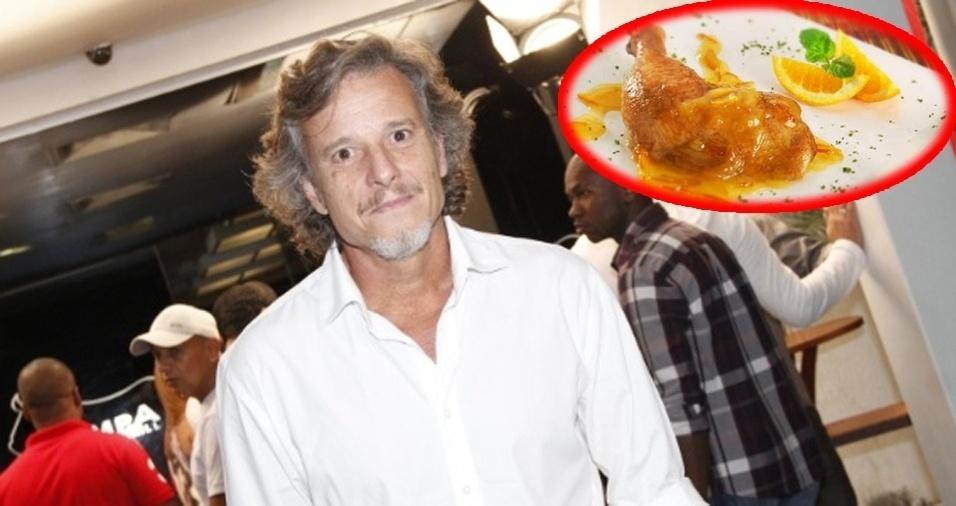15. Marcello Novaes - Frango assado na laranja