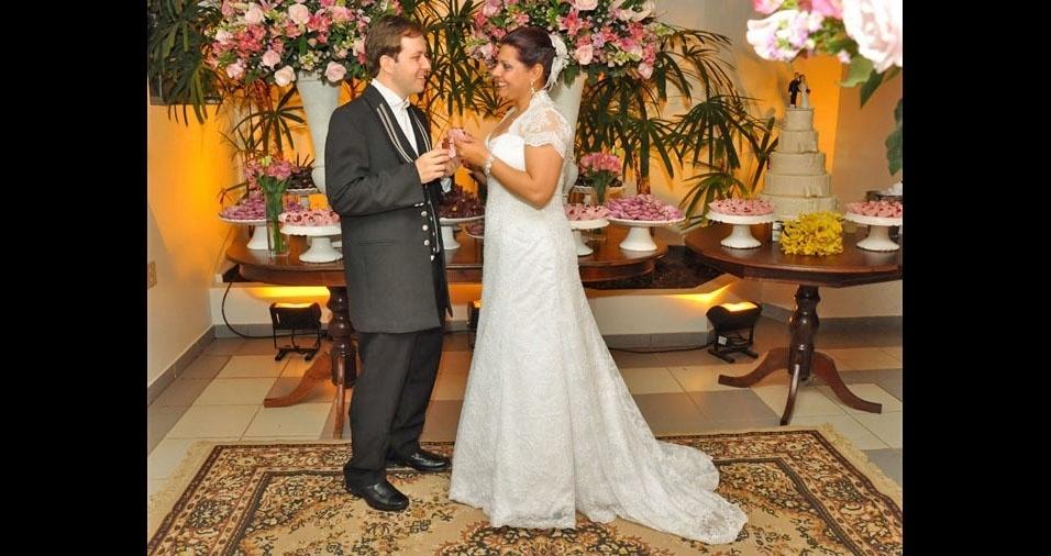 João Lucas Érnica e Viviane Liessi Érnica se casaram em 30 de junho de 2012, na cidade de Birigui (SP)