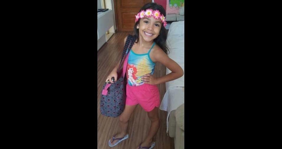 Fred, de Rio de Janeiro (RJ), enviou foto da filha Helena, de cinco anos