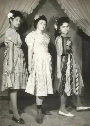 Edi Morais no Baile em Raul Soares, em 1950. Foto enviada por Raul Soares, de Minas Gerais