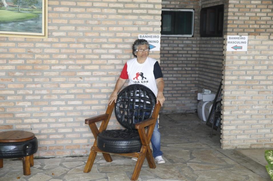 10.mai.2016 - Marlene Mattos trocou os bastidores da TV para administrar um hotel fazenda em Aracaju, no Sergipe