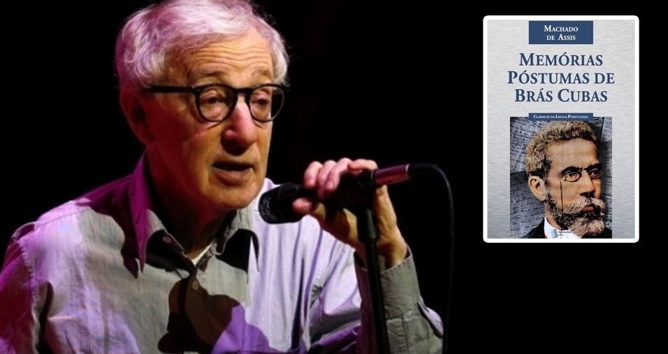 """3. O cineasta Woody Allen afirmou em entrevista à """"Folha de S. Paulo"""", em 2015, que não conhecia muito sobre o Brasil. Ainda assim, um dos livros favoritos dele é brasileiro! """"Memórias Póstumas de Brás Cubas"""", de Machado de Assis, entrou para lista de queridinhos de Allen. """"Eu recebi pelos correios. Alguém que eu não conhecia me mandou e escreveu 'Você vai gostar disso'. Eu li porque não um livro grande. Se fosse maior, eu teria descartado. Mas fiquei chocado com como ele era charmoso e divertido. Não acreditava que ele tivesse vivido numa época tão distante. Você pensaria que foi escrito ontem. É tão moderno e prazeroso. É uma obra muito, muito original. O livro me despertou alguma coisa, da mesma forma que aconteceu com 'O Apanhador no Campo de Centeio' [de J. D. Salinger]. Era um assunto de que eu gostava e que foi tratado com muita inteligência, uma originalidade tremenda e nenhum sentimentalismo"""", revelou ao jornal """"The Guardian"""""""